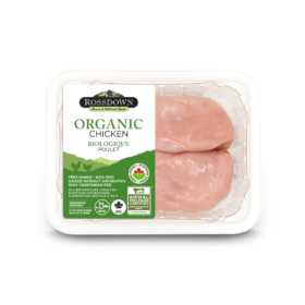 Rossdown Organic Boneless Skinless Chicken Breast