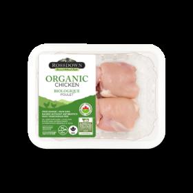 Rossdown Organic Boneless Skinless Thigh