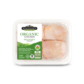 Rossdown Organic Chicken Thighs
