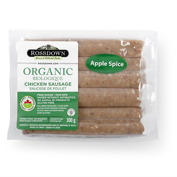 AppleSpice Chicken Sausages