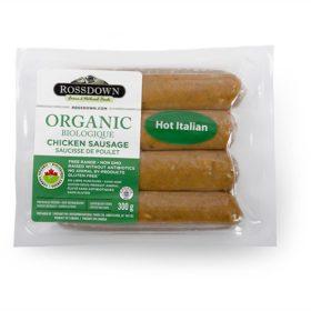Hot Italian Chicken Sausage - Rossdown