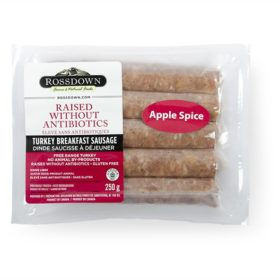 Rossdown Turkey Sausage - Apple Spice