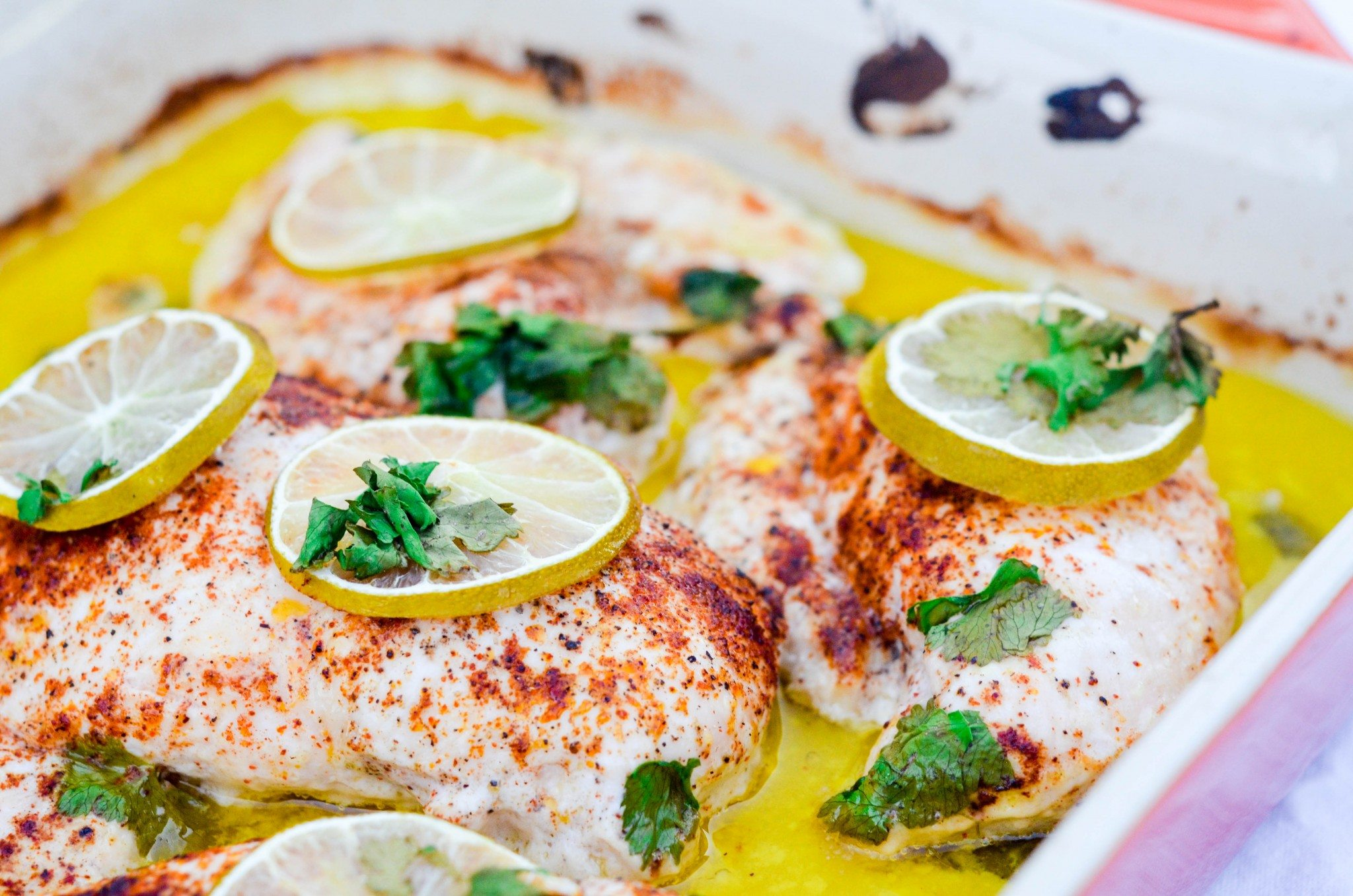 Coconut Cilantro Lime Chicken Breasts